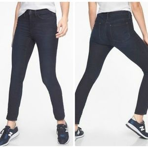 Athleta Sculptek Skinny Jeans Overdye Wash